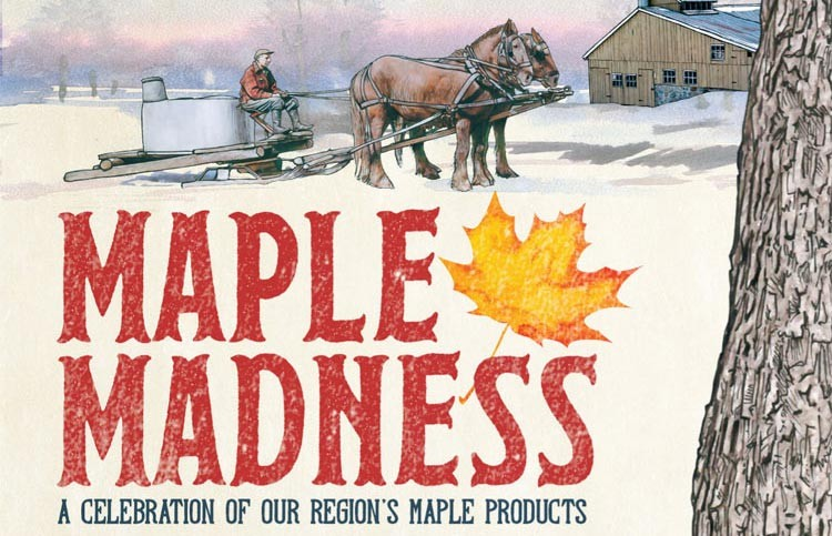 Celebrate Vermont maple sugaring time at Maple Madness in Woodstock!