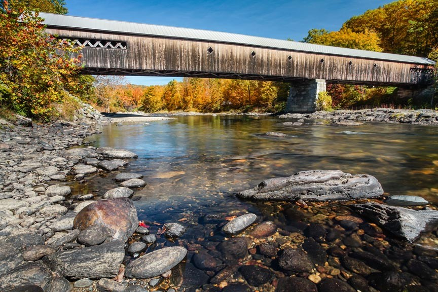 Enjoy a Vermont Covered Bridges Driving Tour