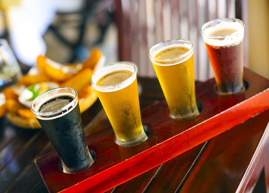 Vermont craft beer breweries near Woodstock