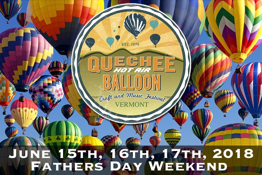 Quechee Hot Air Balloon Festival 2018