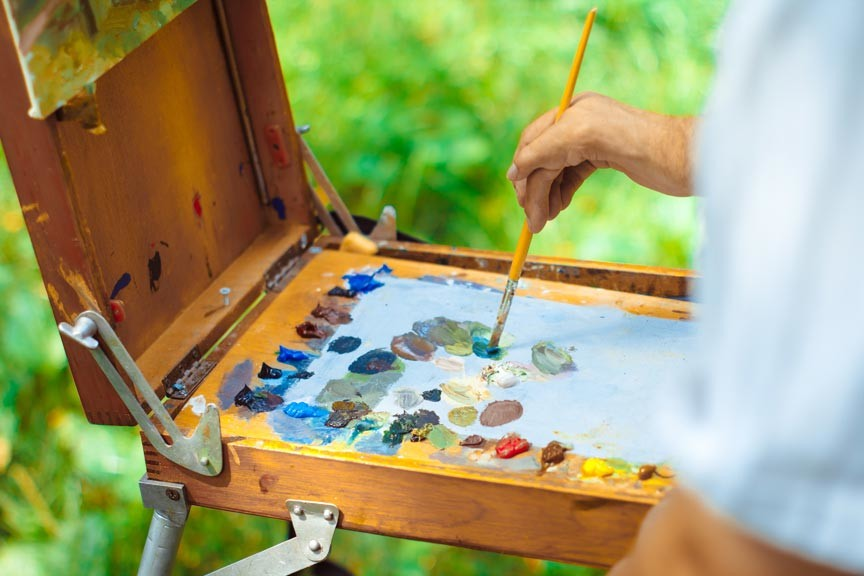 Vermont Institute of Natural Science en Plein Air Painting Festival 2018