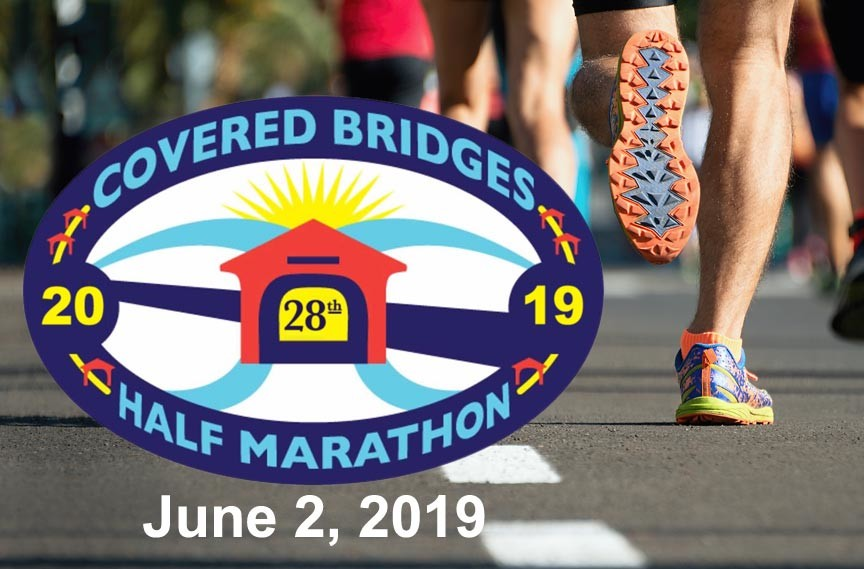 Covered Bridges Half Marathon 2019