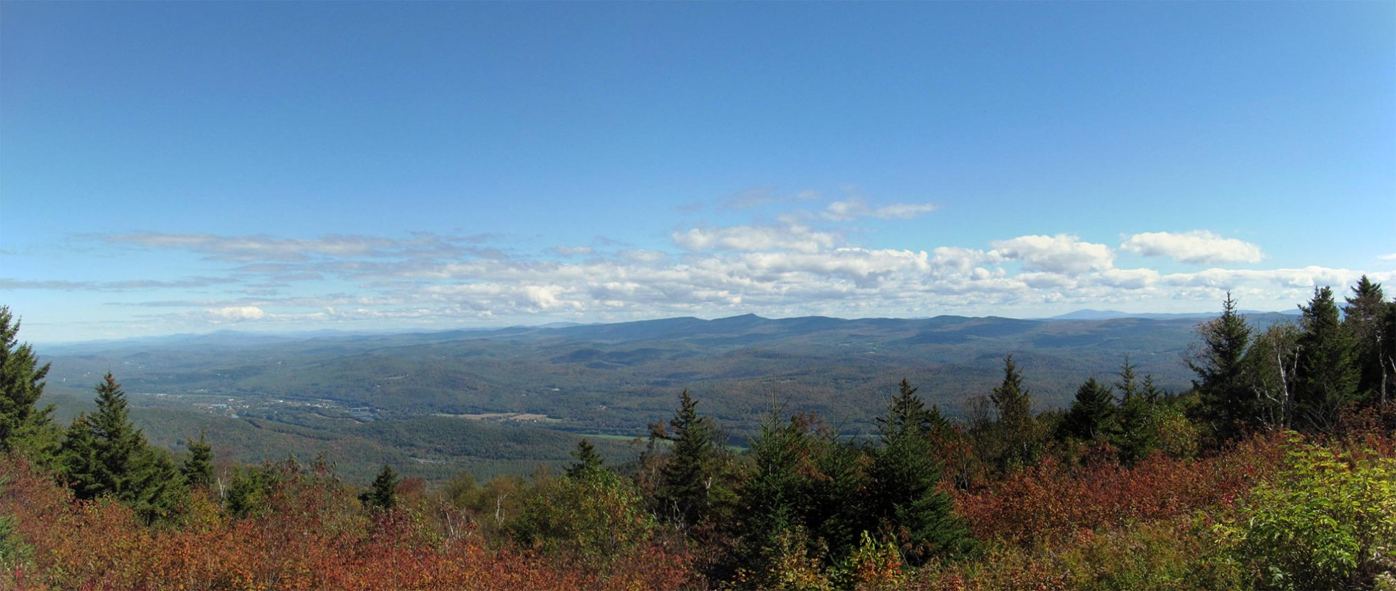 Views from Mount Ascutney State Park