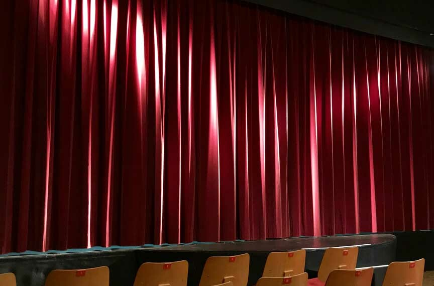 Northern Stage curtain