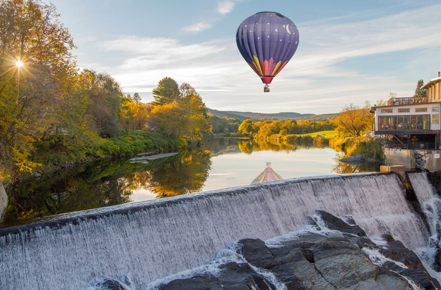 Quechee Hot Air Balloon Rides